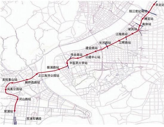 杭州地铁6号线开工啦图片