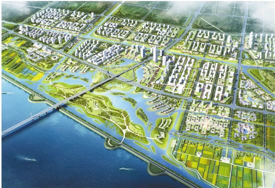 杭州大江东桥头堡地区新门户规划绘就