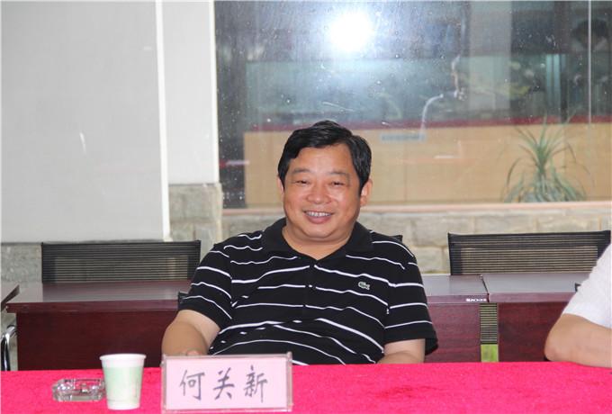 人民防空办公室卢乐祥-关新副主席赴市人防办调研